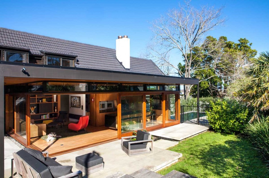 Split Level Home Gets Two New Extensions