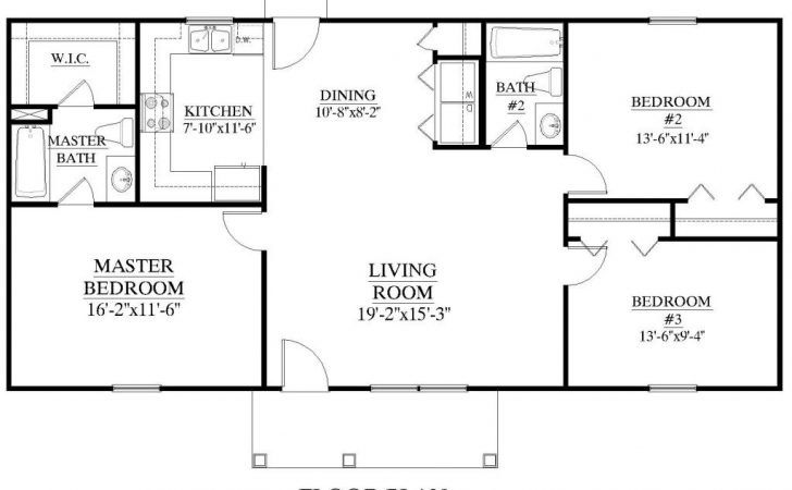 Square Foot Ranch House Plans Mibhouse