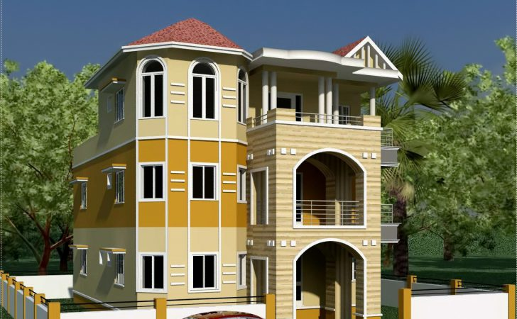 Storey South Indian House Design Architecture Plans