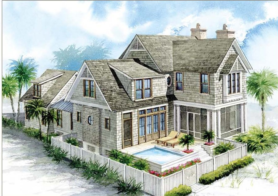 Stunning Nantucket Style Houses Home Plans