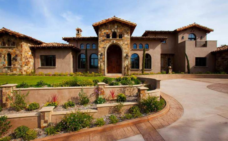 Tuscan Style Homes Plans