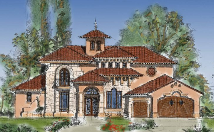 Tuscan Style House Plans Square Foot Home Story