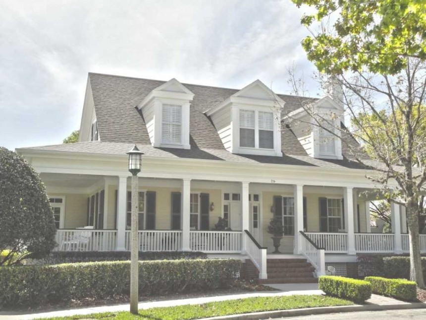 Two Story Country House Plans Wrap Around Porch