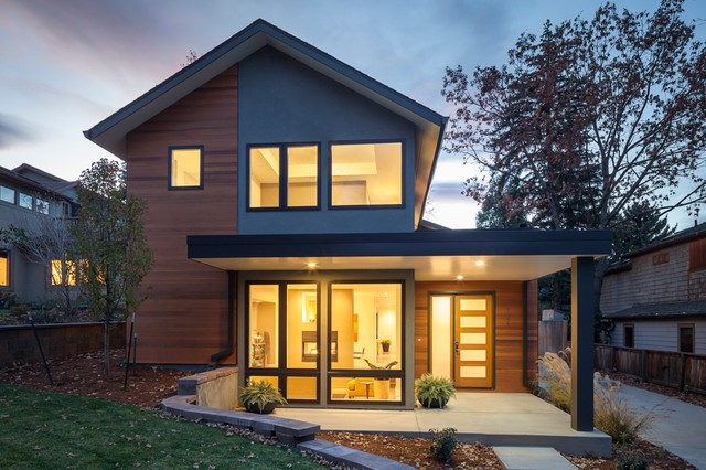 Value Driven Modern Home Exterior Denver